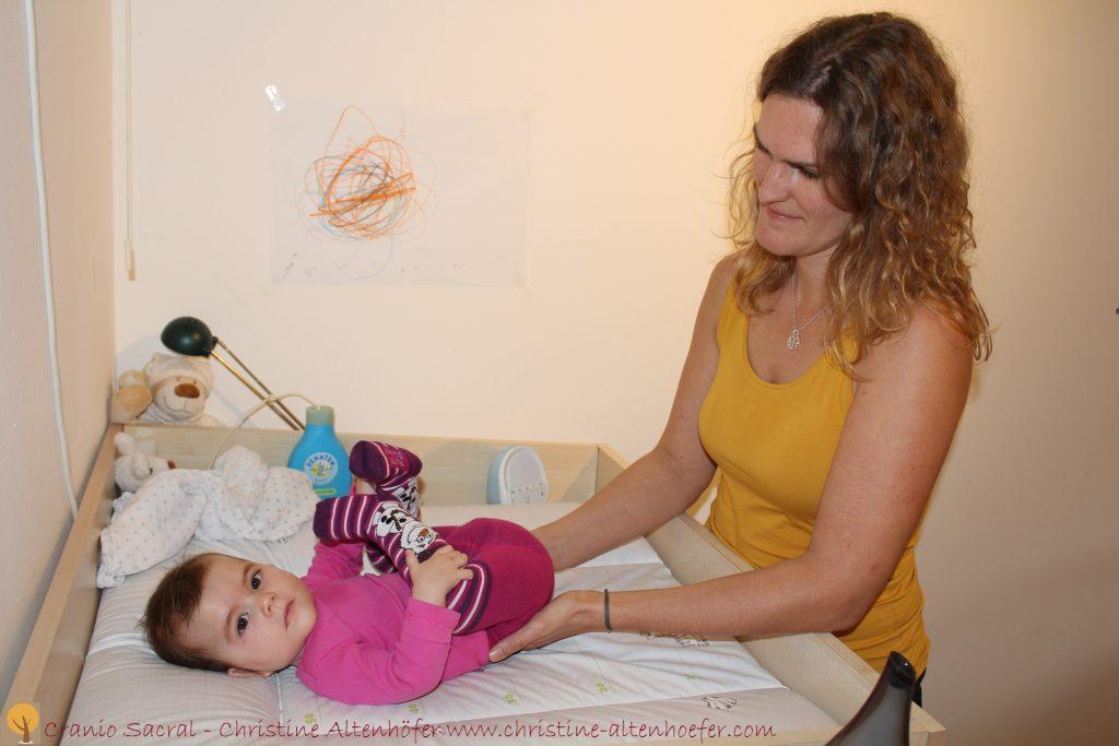Craniosacrale Behandlung nach schwierigen Geburten