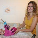 Cranio beim Baby hilft gegen Schiefhals
